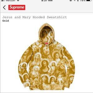 Jesus supreme hoodie good size medium